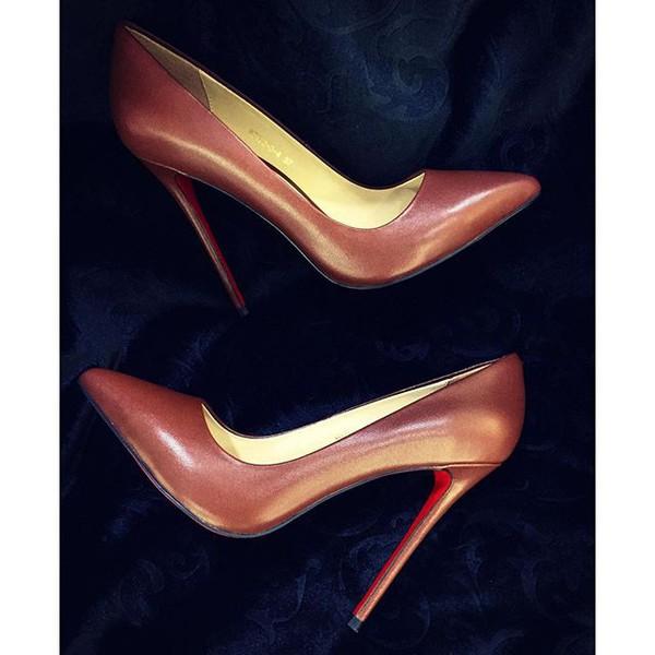075f73825d9c shoes brown shoes high heels medium heels stilettos pumps classy.