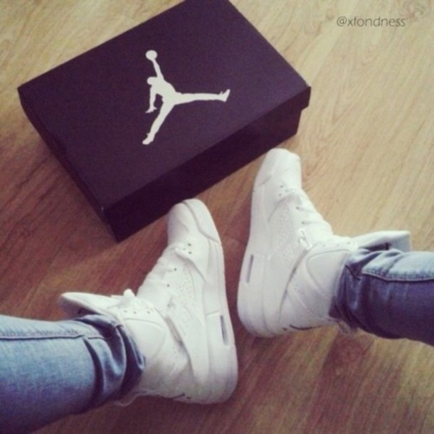 shoes jordans high top sneakers white sneakers