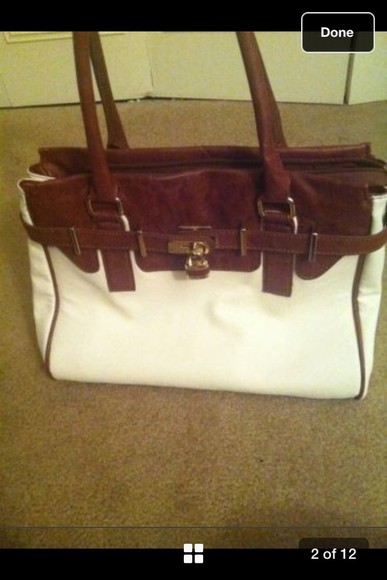 bag leather bag leather bag brown white fall aldo cheap chic