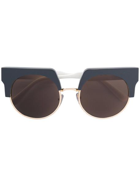 MARNI metal women sunglasses grey