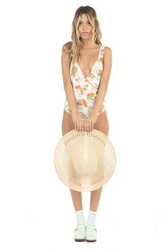 swimwear cheeky lolli swim one piece print bikiniluxe