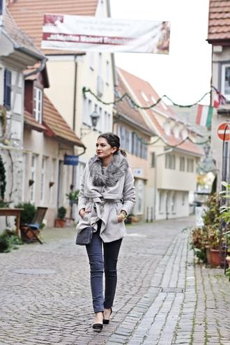 jeans blouse blogger bag scarf fashionhippieloves