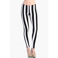 OMG Vertical Stripe leggings from Love Melrose - LEGGINGS