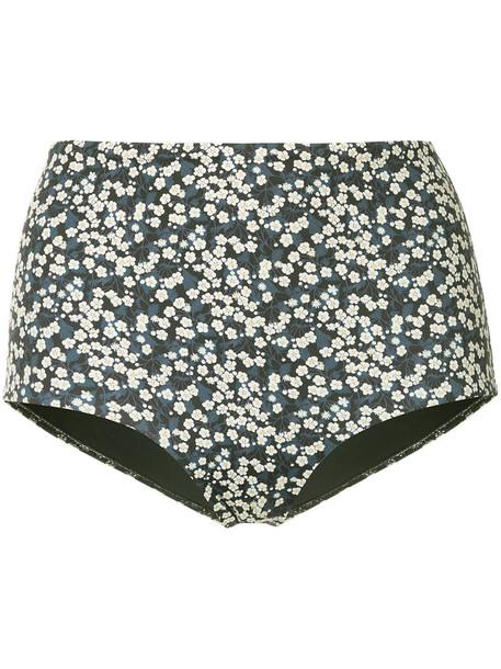 MATTEAU high women spandex blue underwear