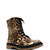 GJ | Leopard Graphic Combat Boots $32.20 in LEOPARD - Boots | GoJane.com