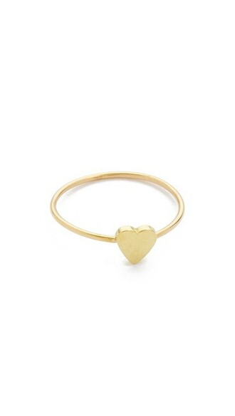 heart mini ring gold jewels