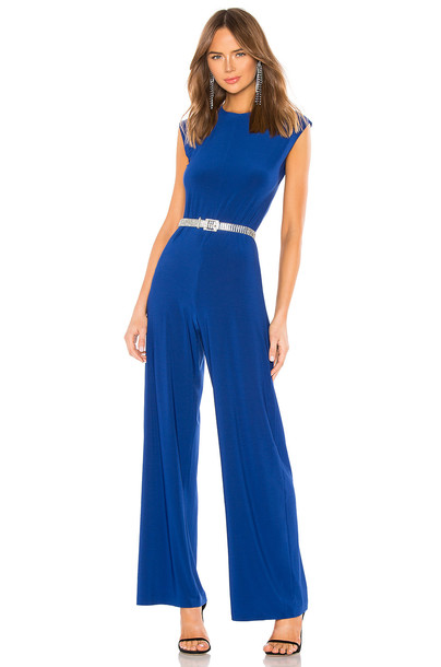 Norma Kamali x REVOLVE Sleeveless Jumpsuit in blue