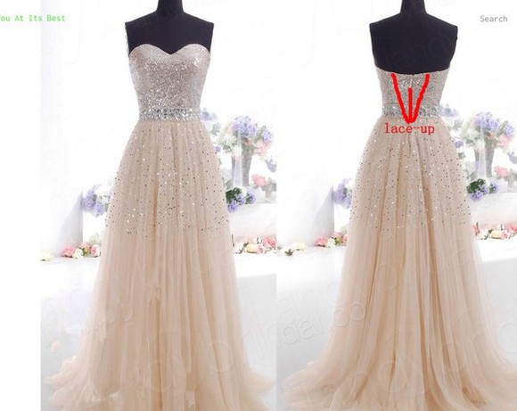 dress chiffon style classy girls wear pearls clothes fashion long prom dresses evening dress formal dress prom dress elegant maxi dress strapless top corset pink dress sweetheart dresses sophisticated fitted dress bling dress tulle lace evening gown gold silver wedding dress