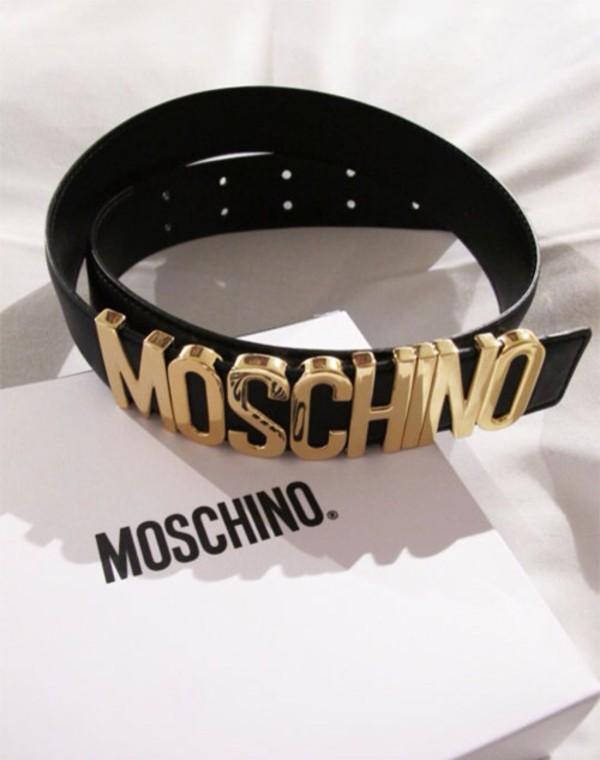 belt moschino
