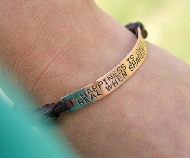 Freundschaftsbänder - Personalisierte Armband - Kupfer - ein Designerstück von She-Bijou bei DaWanda