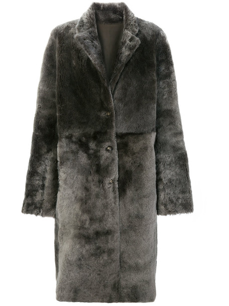 Joseph coat oversized coat oversized women grey
