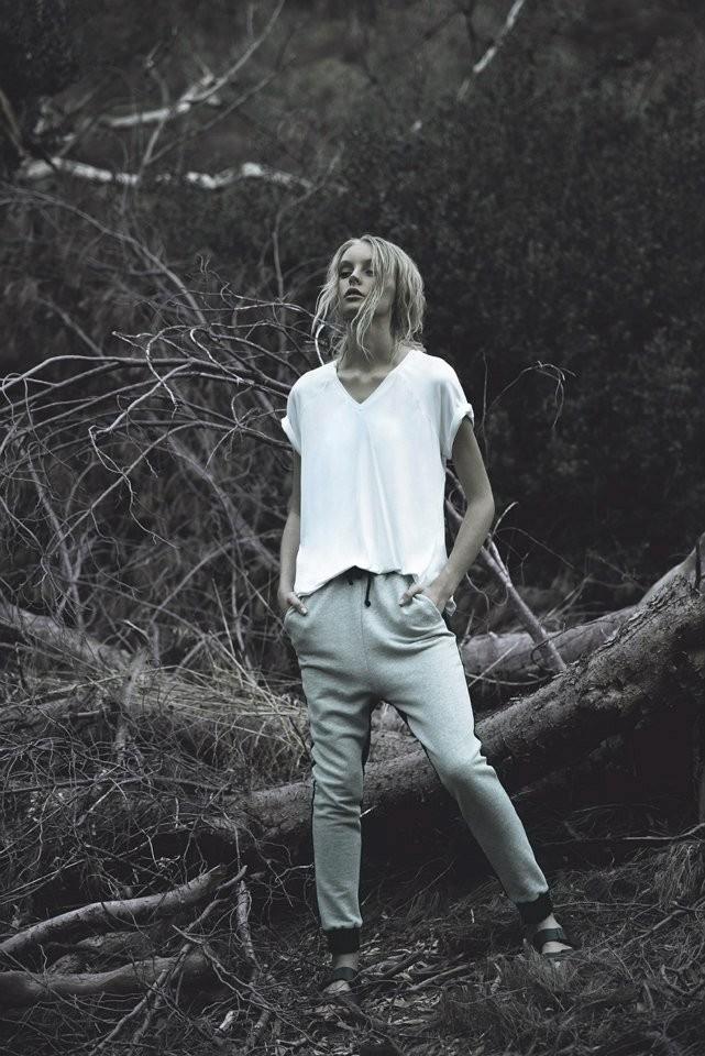 Fifth label dark paradise pants in grey