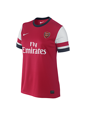2013/14 Arsenal Football Club Replica Short-Sleeve Women's Football Shirt. Nike Store UK