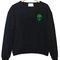 Alien head green sweatshirt - stylecotton