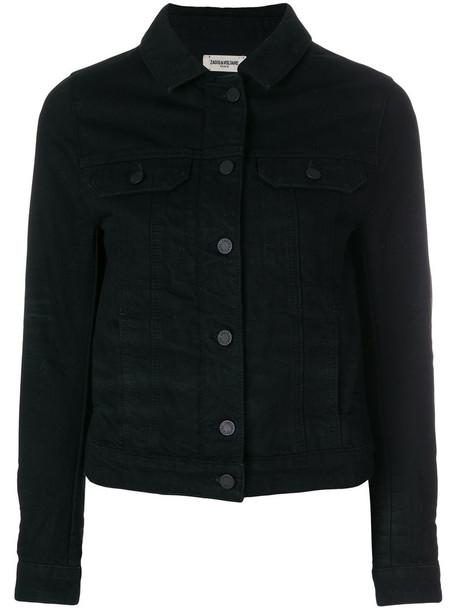 Zadig & Voltaire jacket women cotton black