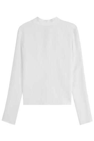 top bow white