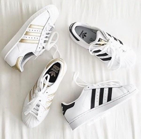 shoes adidas black gold adidas superstars adidas originals adidas shoes.