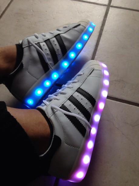 adidas superstar neon colors