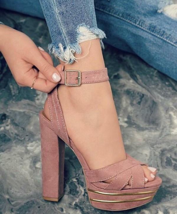 shoes heels high heels strappy heels dusty pink strapy velvet pink heels black or white