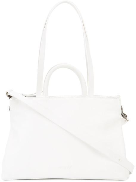 Marsèll horse women leather white bag