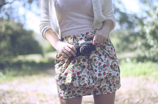 flowers floral skirt skirt shirt floral skirts and tops