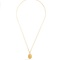 Zircon and gold-plated necklace | theodora warre | matchesfashion.com us