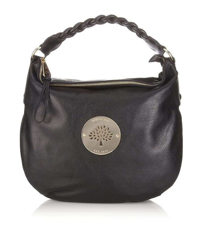 Mulberry Black Daria Medium Hobo Bag 0f6a3c5e21d20