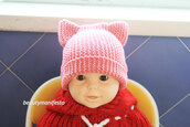 baby,children crochet hat,baby knit hat,crochet baby hat,newborn boy hat,knit newborn hat,baby earmuff,baby beanie,cat girl,ear flap knit cat,crochet,hat,baby hat