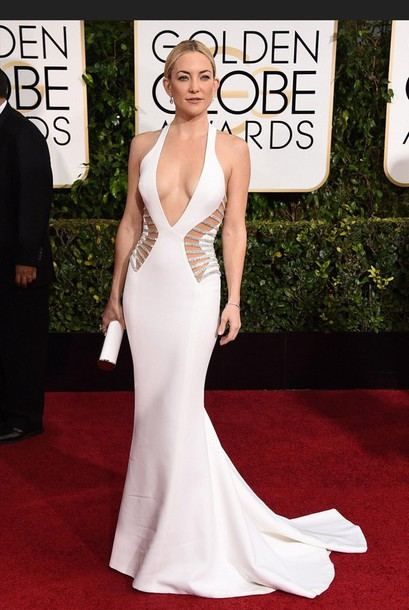 kate hudson white dress