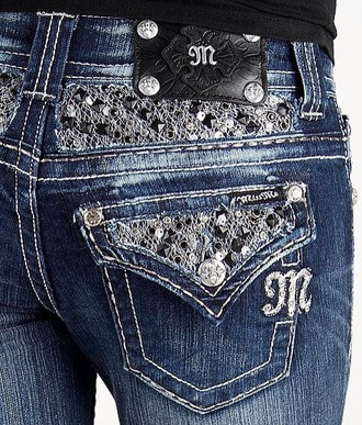 jeans miss me jeans buckles style sparkle
