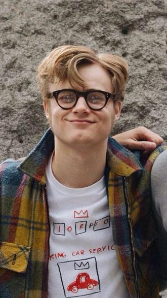 shirt white aesthetic pale soft grunge soft grunge indie bambi tumblr boy bertie gilbert menswear hipster menswear