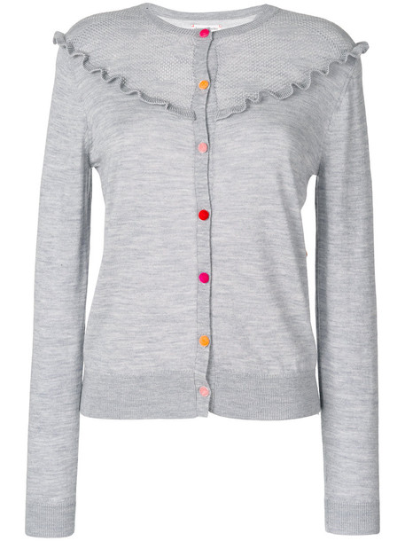Chinti & Parker cardigan cardigan women lace grey sweater
