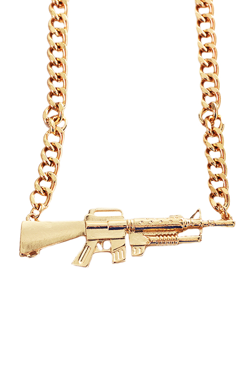 AK47 Gun Necklace (LAST ONE), THE CULTLABEL