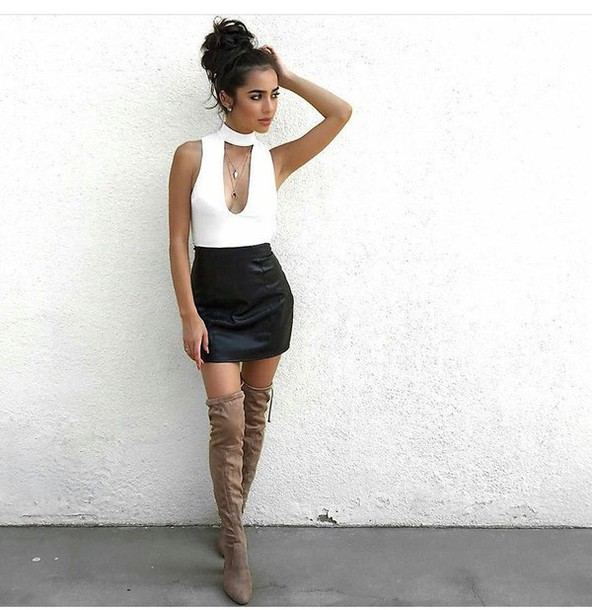Mini Pencil Skirt Outfit