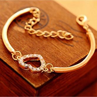 jewels romantic bracelets bracelets women goldbracelets fashion