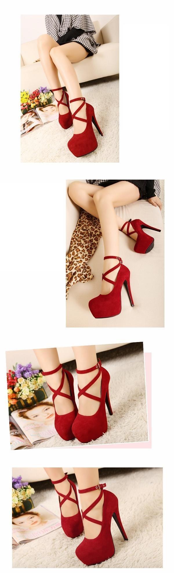 shoes res shoes high heels croos-strap platform stilettos stilettos