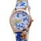 Exquisite floral watch