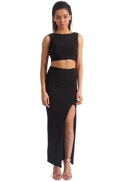 Ari Split Skirt – Boom Boom Boutique