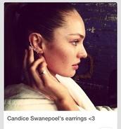 jewels,earrings,diamonds,candice swanepoel,blue eyes,model,victoria's secret,victoria's secret model,supermodel,jewelry