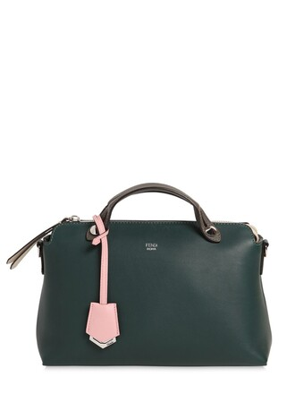 bag leather bag leather green