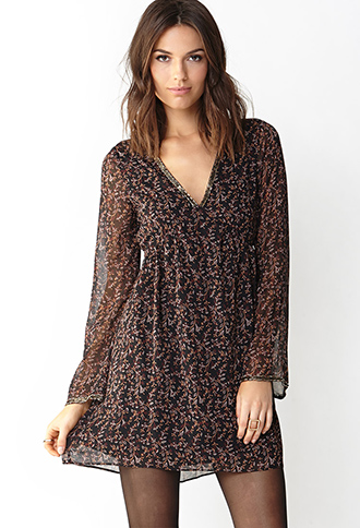 Poetic Dazzle Shift Dress | FOREVER21 - 2000090161