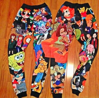 pajamas cartoon pants