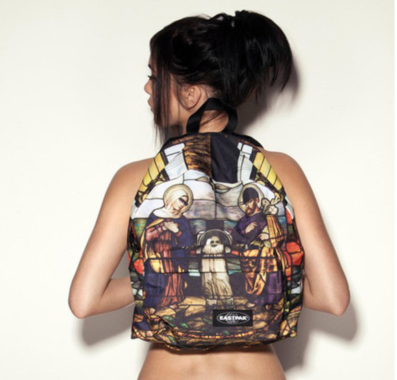 religion bag art awesome eastpak