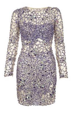 JOVANI - Blue Sequin Dress hire at Girl Meets Dress Cocktail Dress, Designer Dresses and Prom Dresses rental