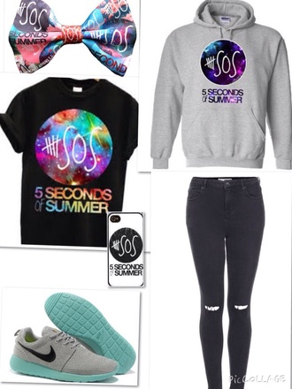 sweater jumper phonecase 5sos sweatshirt