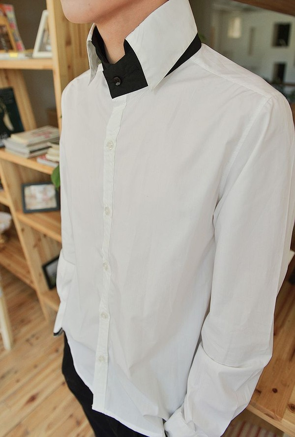 how to turn a collar on a shirt
