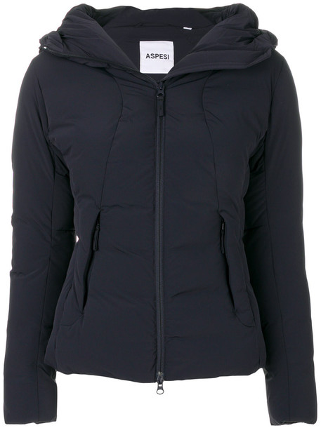 jacket women spandex blue