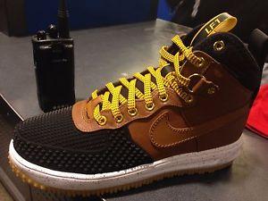 Nike Lunar Force 1 Duckboot Light British Tan Sneaker Bar