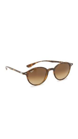 light sunglasses round sunglasses brown