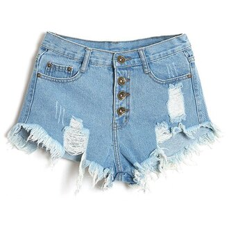 shorts denim summer fashion ripped jeans trendy cool trendsgal.com